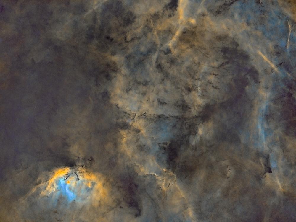 The Tulip Nebula Starless with Starnet