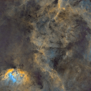 SH2-101 - 46 hours on The Tulip Nebula from the backyard