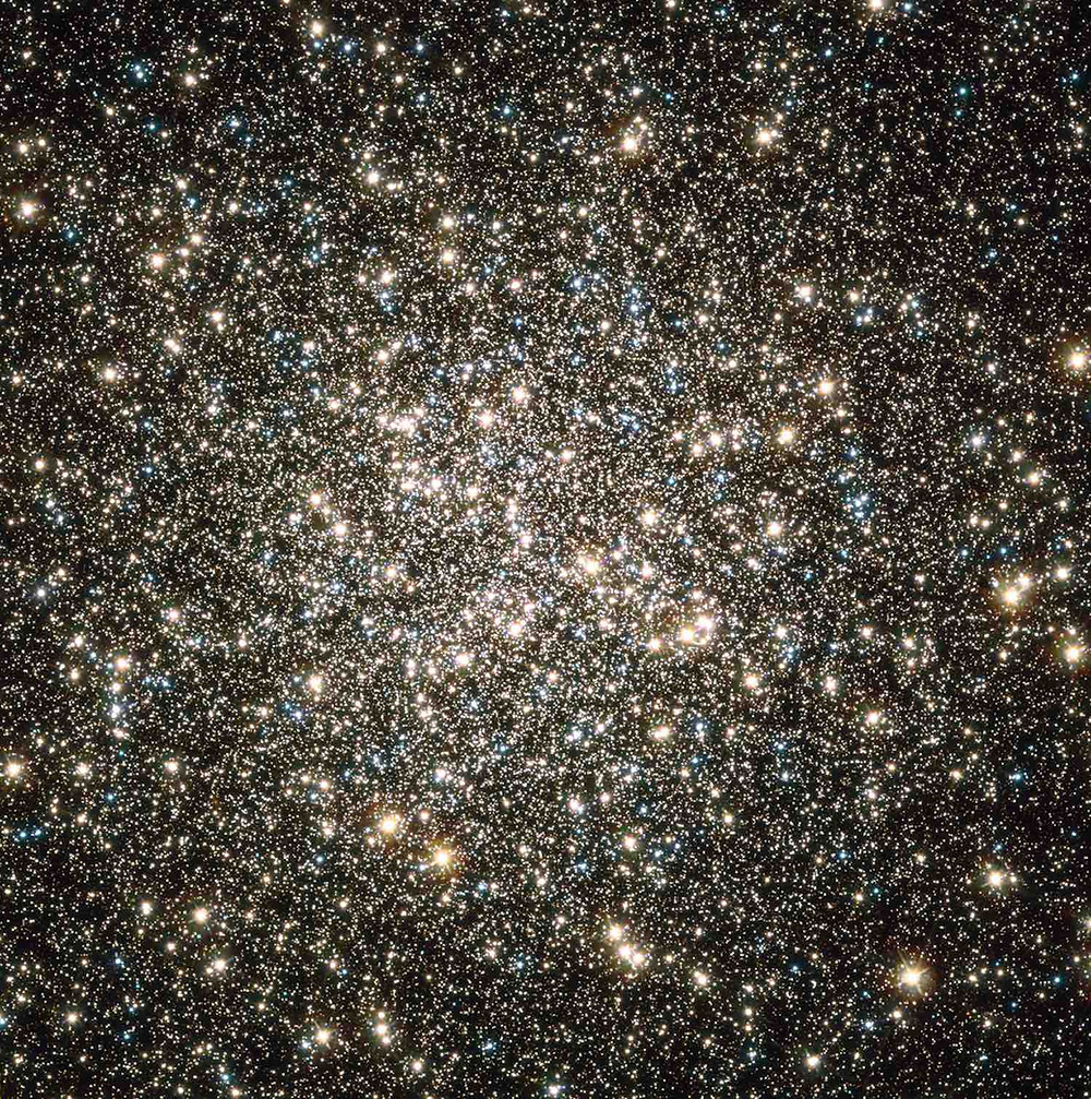 Messier 13 Globular Cluster taken by the Hubble Space Telescope by NASA/ESA
