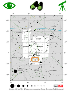How to Locate The Orion Nebula M42 in the night sky with a map, astronomy and astrophotography for beginners, orion constellation