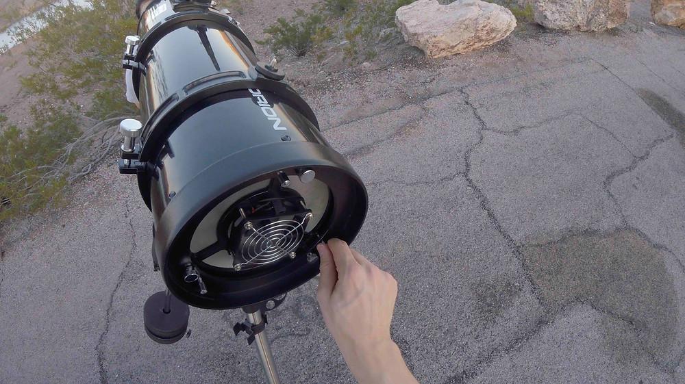 Collimater le télescope - Mirroir Principal