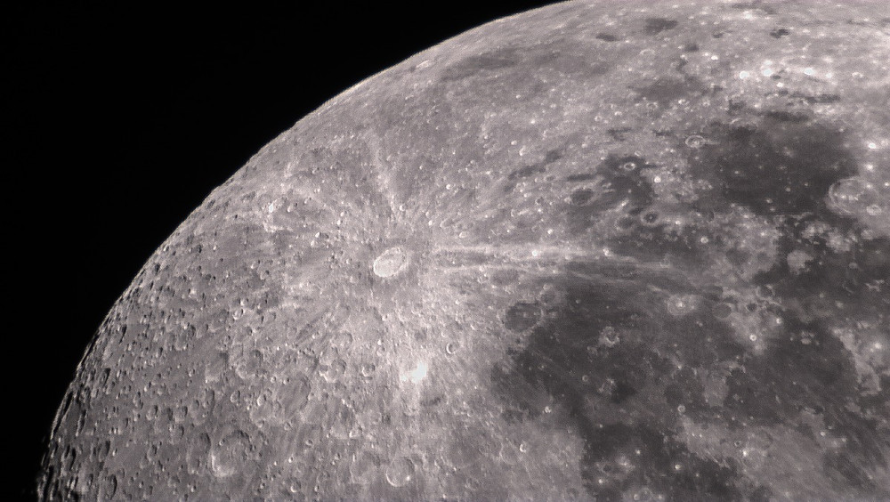 The Moon with a planetary camera