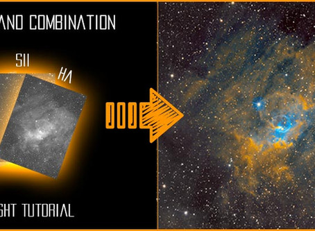 PixInsight: Narrowband Combination in Hubble Palette - Tutorial