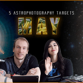 5 May Astrophotography Targets you can image this month!