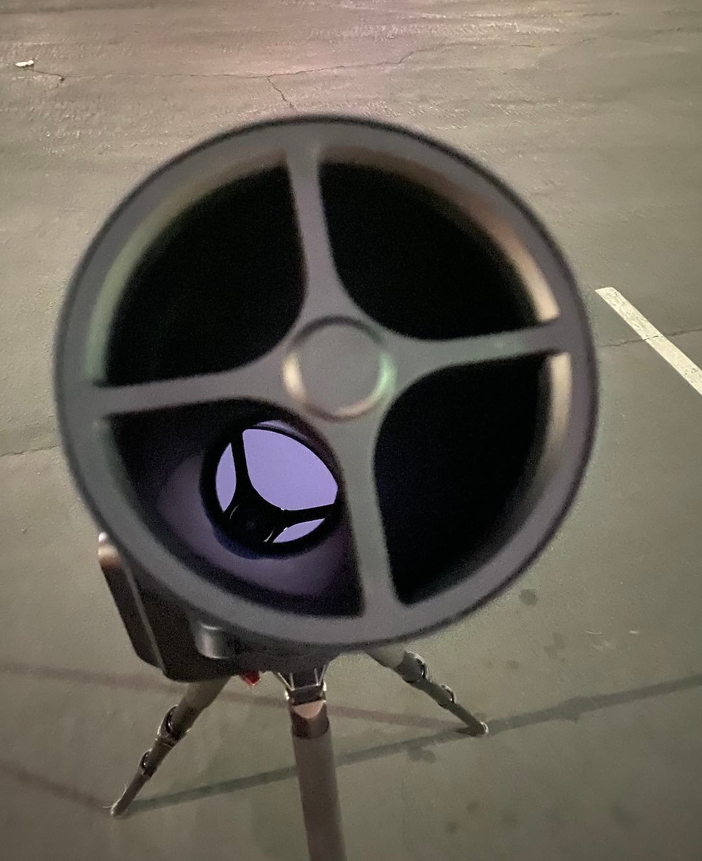 Unistellar EVscope primary mirror