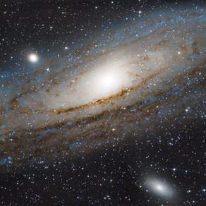 M31 - LA GALAXIE D'ANDROMÈDE