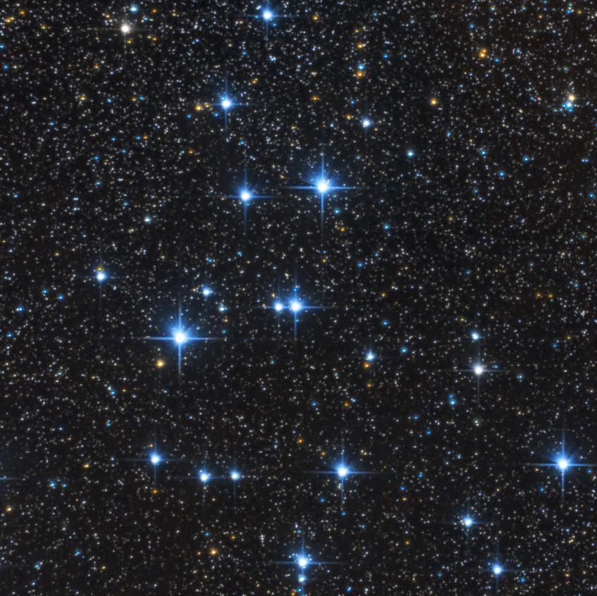 M39, Amas d'Étoiles Ouvert dans la constellation du Cygne