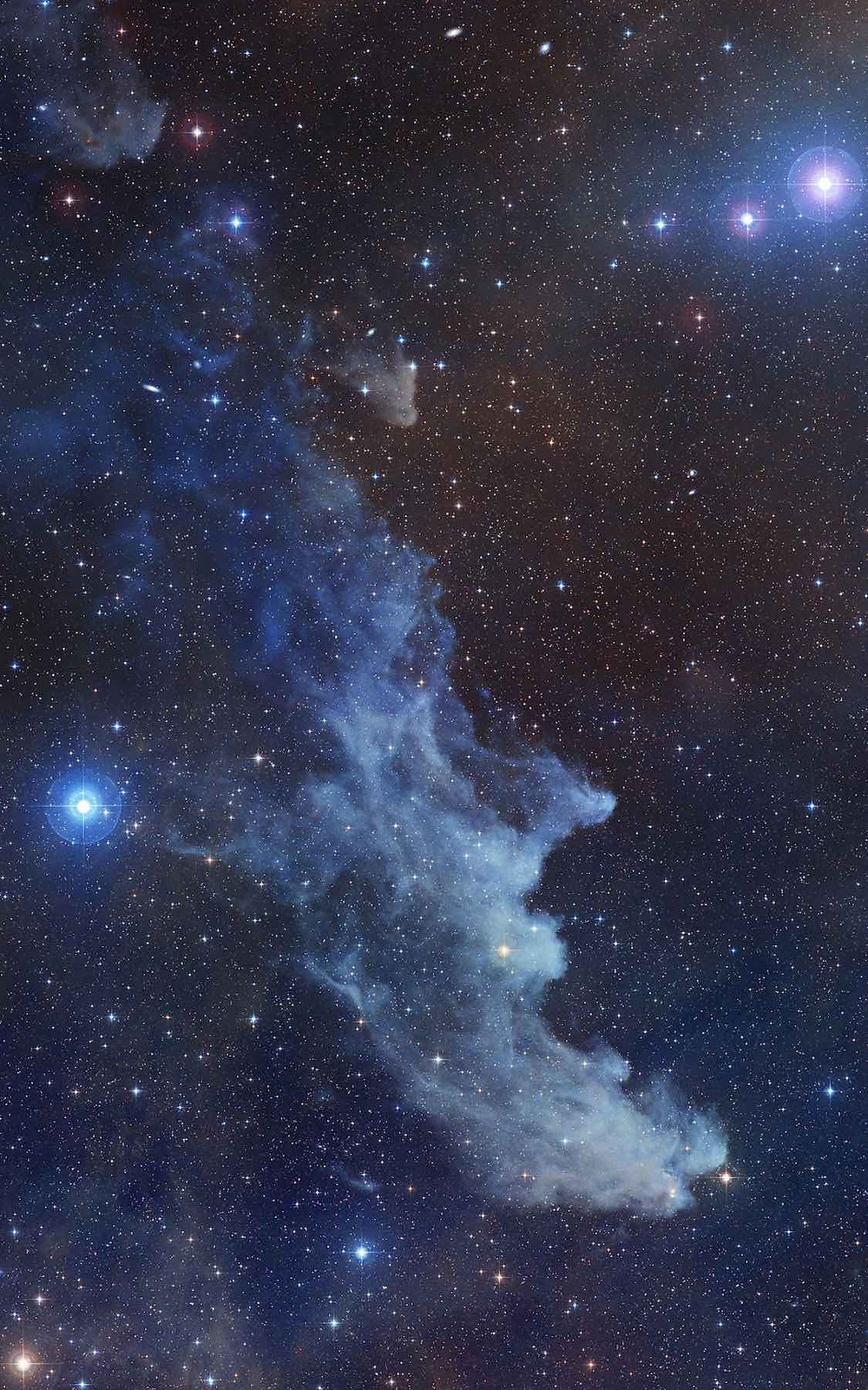 IC 2118 The Witch Head Nebula Astrophotography by NASA/ESA