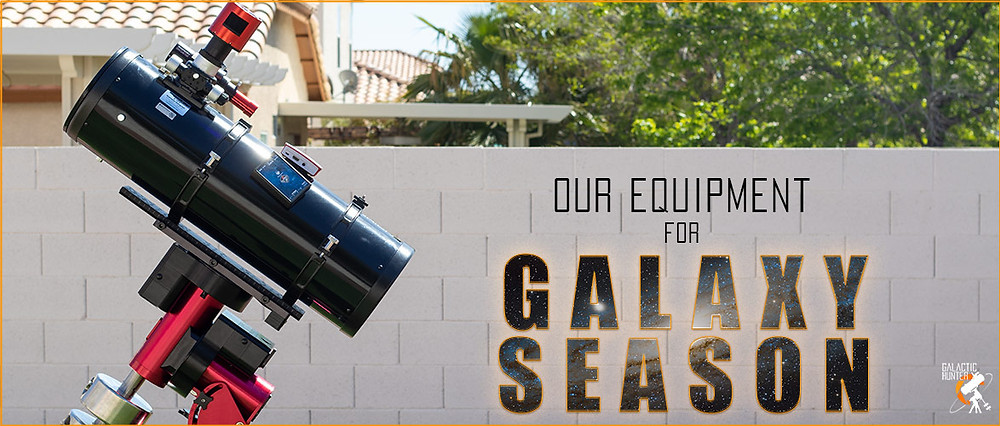 Astrophotography equipment for Galaxy season Spring