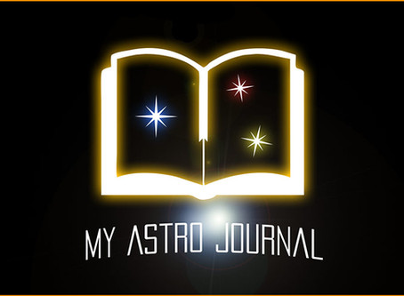 My Astro Journal - AVAILABLE NOW!
