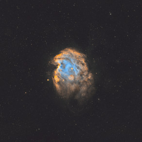 NGC 2174 - The Monkey Head Nebula Astrophotography from the city