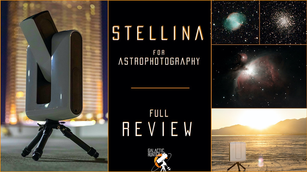 Review of the Stellina Smart Telescope - Observation Station from Vaonis