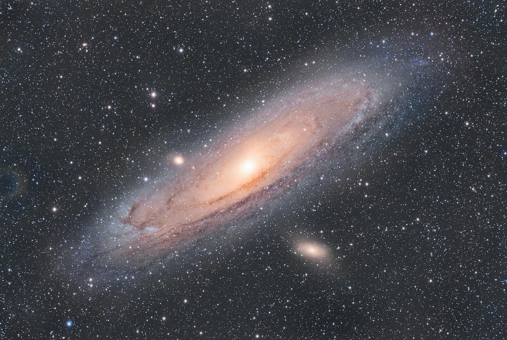 The Andromeda Galaxy QHY600C SV130X