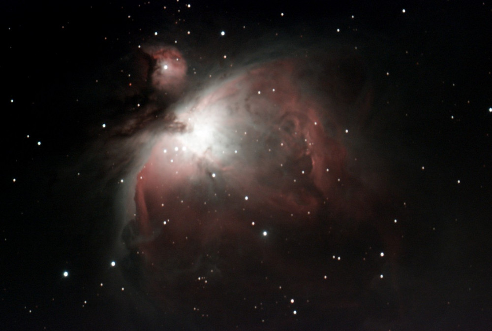 The Orion Nebula (M42) taken with Stellina, smart telescope