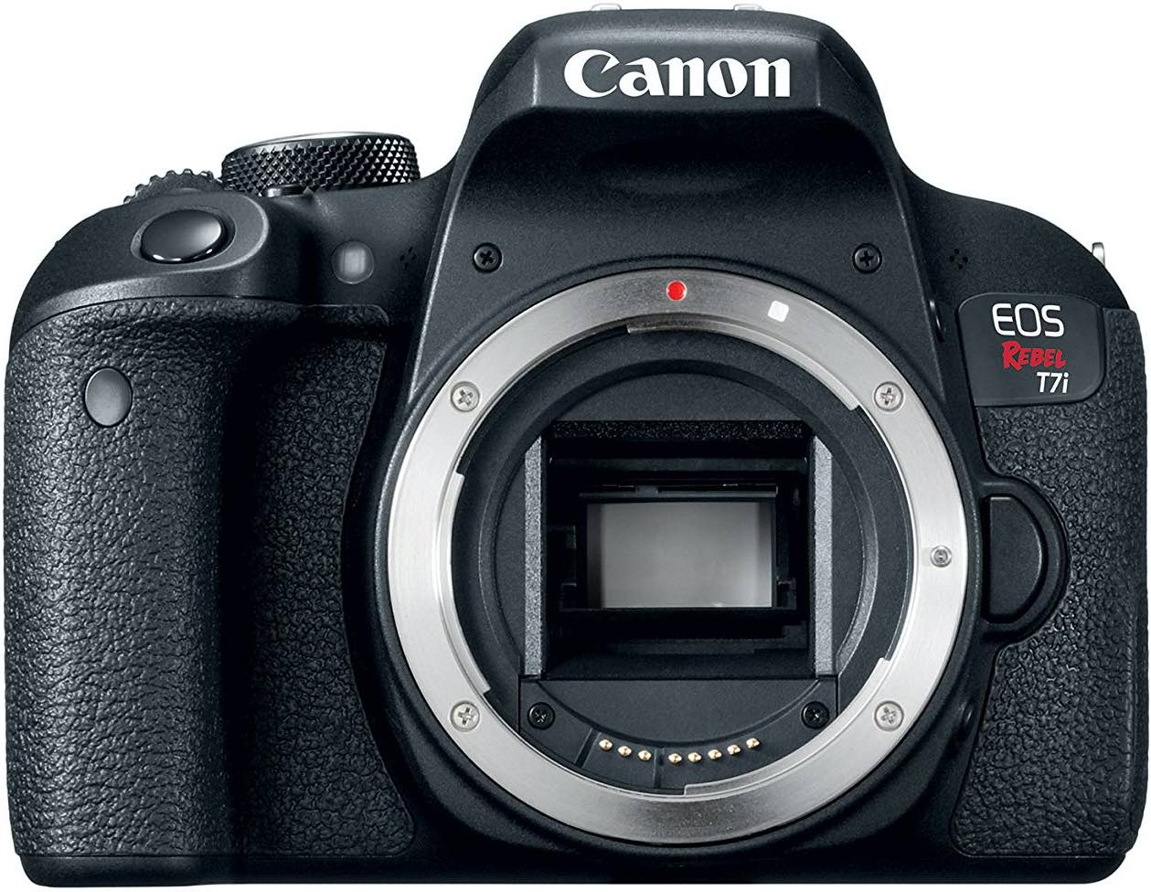 Canon t7i DSLR Camera for beginner Astrophotographers, affordable camera for amateur astrophotography. How to photograph the Milky Way and deep sky objects with a DSLR camera