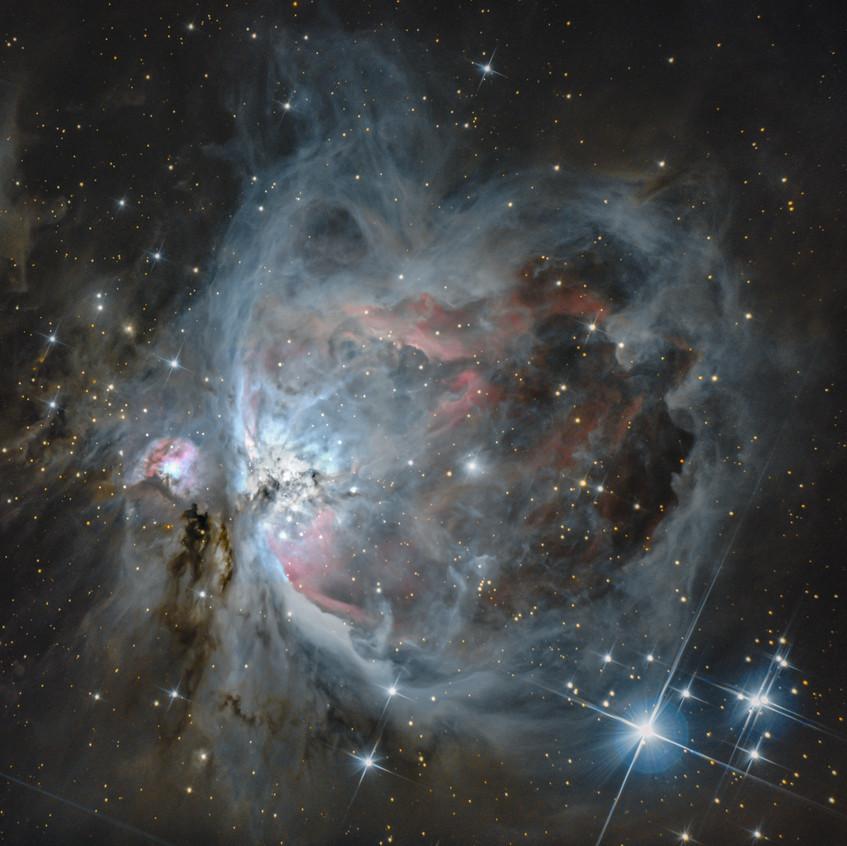 La nébuleuse d'Orion elle-même