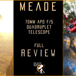 Meade 70mm APO f/5 Review - An incredible portable refractor telescope!