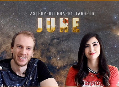 5 June Astrophotography Targets you can image this month!