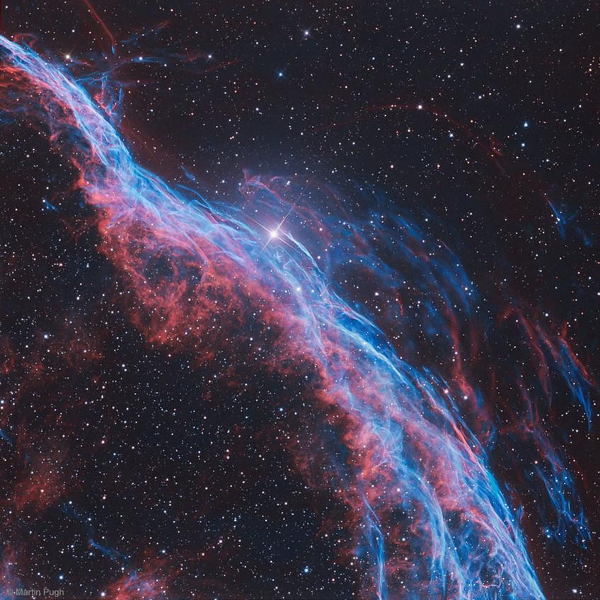 Eastern Veil nebula Astrophotography APOD