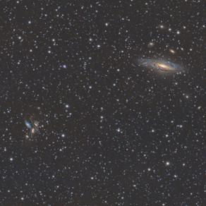 HCG 92 - Stephan's Quintet - A handful of galaxies in Pegasus