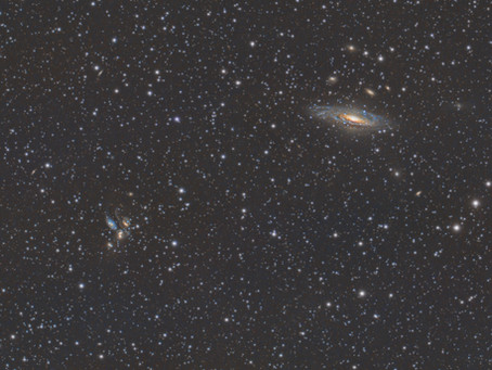 HCG 92 - Stephan's Quintet - A handful of galaxies in Pegasus