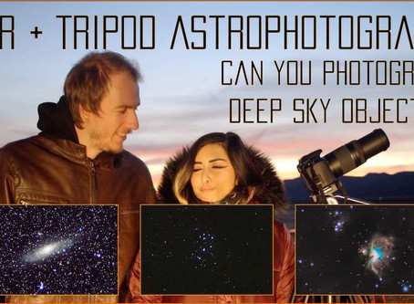 Deep Sky Astrophotography with just a DSLR camera and tripod - Is it possible?