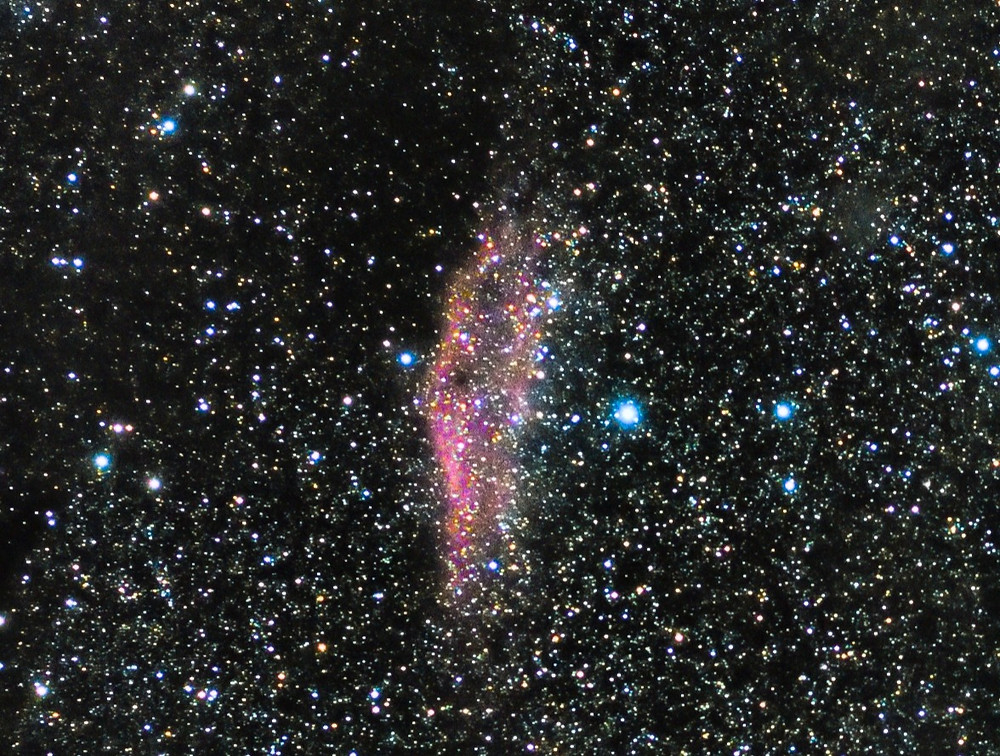 NGC 1499 with a Canon DSLR Camera wide field and no telescope