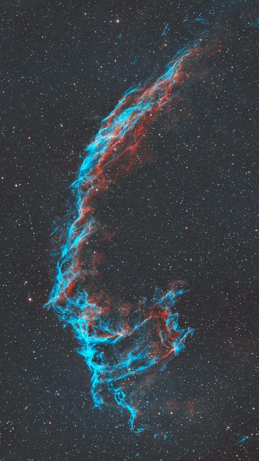 The Eastern Veil Nebula Astrophotography