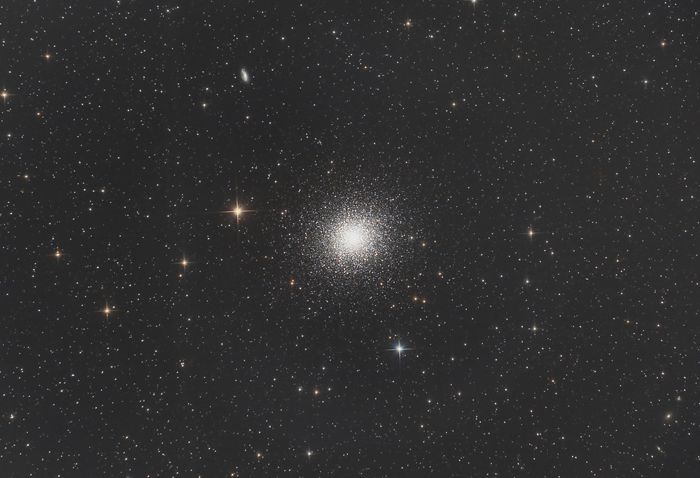 M13 The Hercules Globular Cluster Astrophotography QHY128C Orion Telescopes
