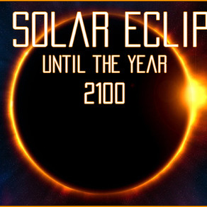 All upcoming solar eclipses (2020-2100)