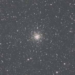 M56 - 1 hour from the backyard with no filter and no calibration frames