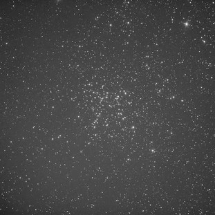 Messier 38 Blue filter from the ZWO ASI 1600MM Astrophotography camera