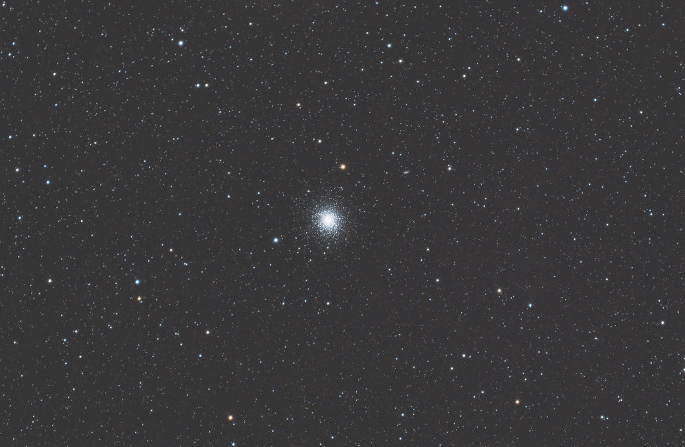 The Hercules Cluster M13 DSLR Astrophotography