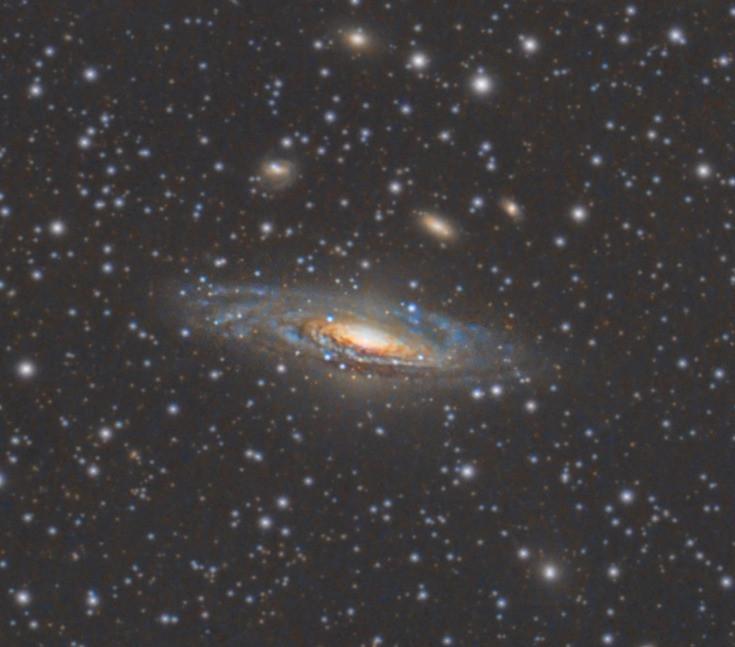 NGC 7331 close up view