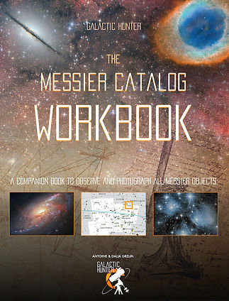 The Messier Catalog Workbook Cover front