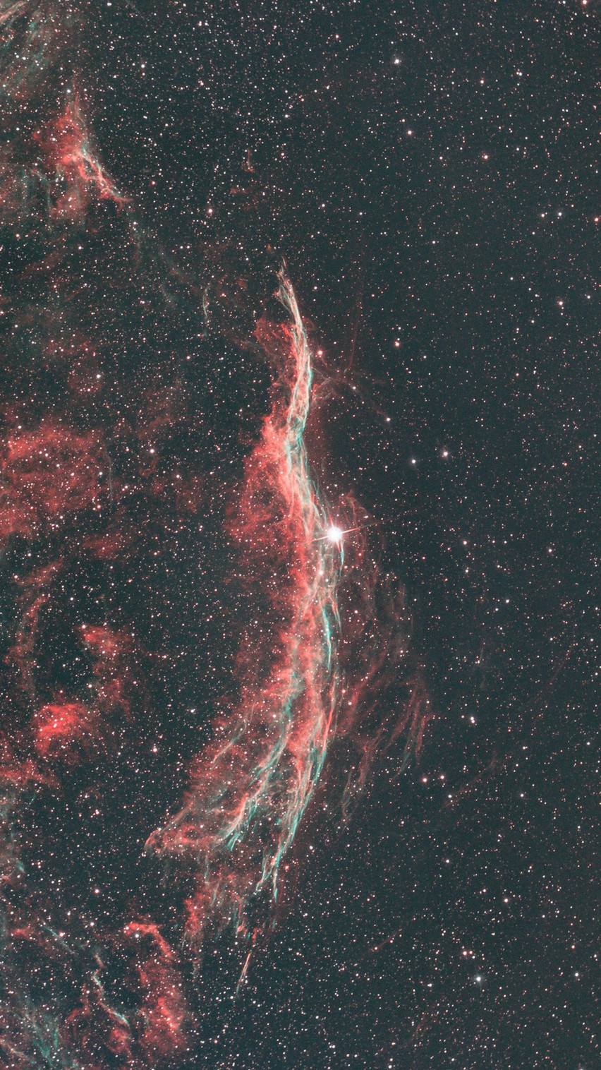 The Western Veil Nebula Astrophotography