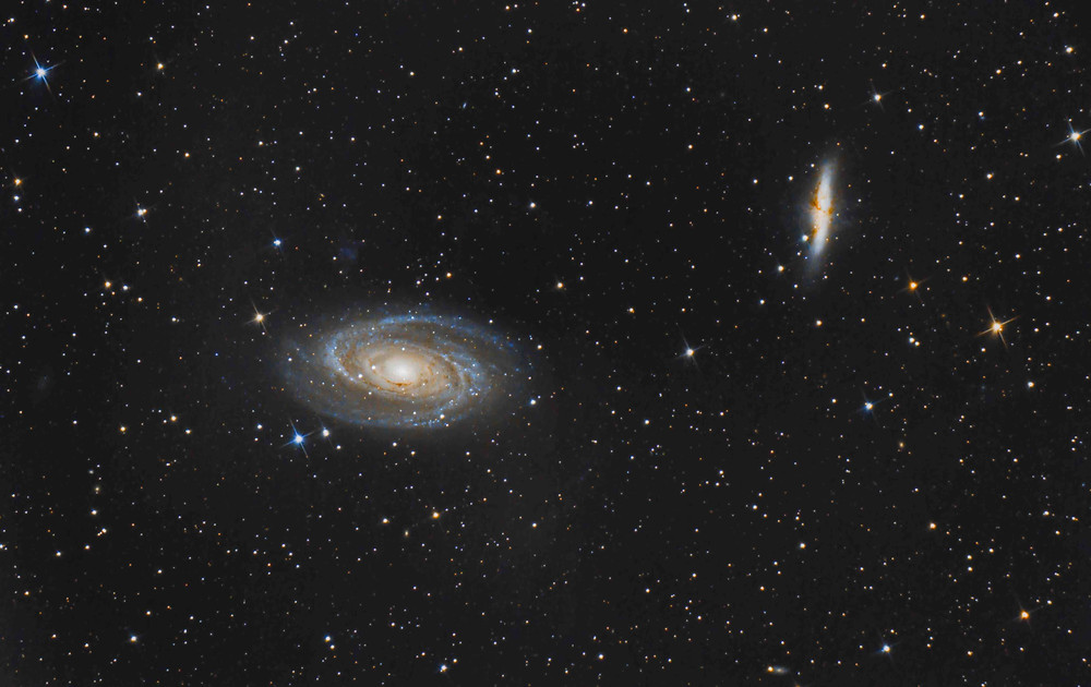 M81 and Messier 82 DSLR Astrophotography