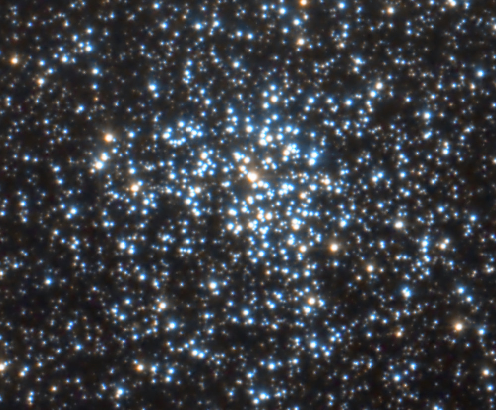 """Messier 37 star cluster using a DSLR Canon camera, Astrophotography with an Orion 8"""" Astrograph telescope"""