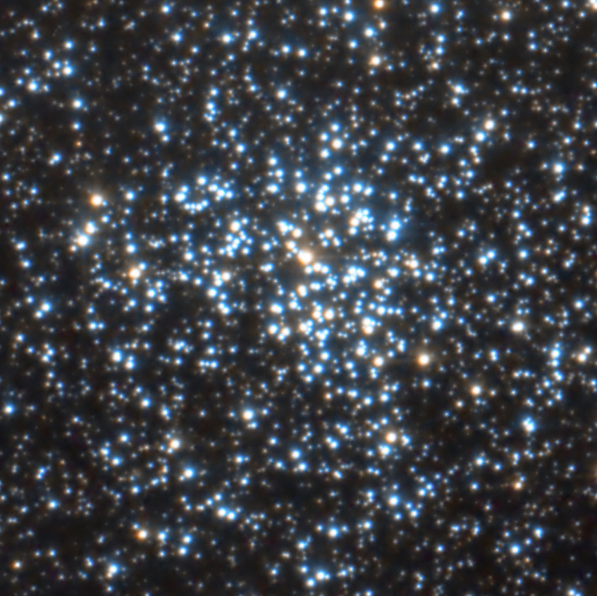 Messier 37, open cluster in the constellation Auriga
