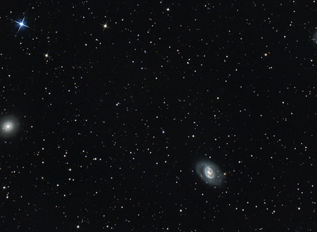 M96 Group - 8 GALAXIES IN THE CONSTELLATION OF LEO