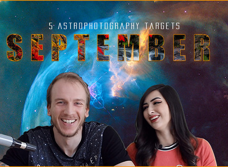 5 September Astrophotography Targets you can image this month!