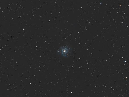 M74 - LA GALAXIE FANTÔME