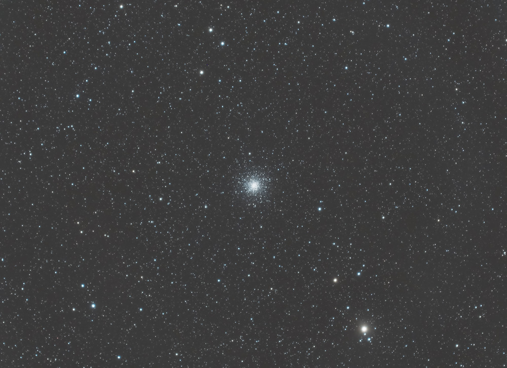 Messier 10 Astrophotography in LRGB