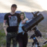 Antoine and Dalia Grelin Astrophotographers from Las Vegas, Nevada