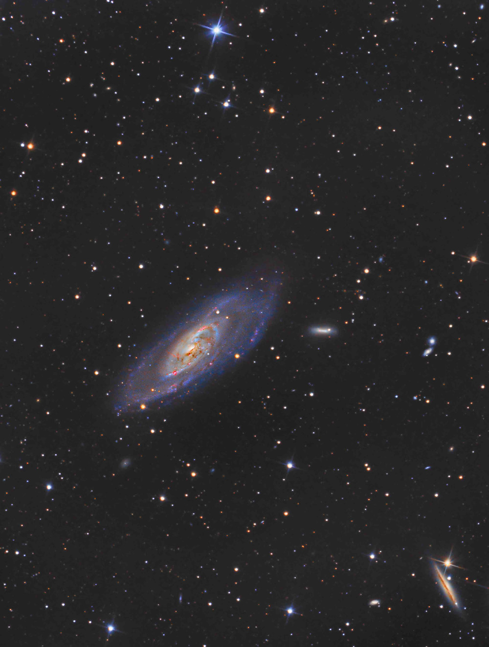 Messier 106 Galaxy ZWO ASI 1600MM Astrophotography CMOS Orion Telescope
