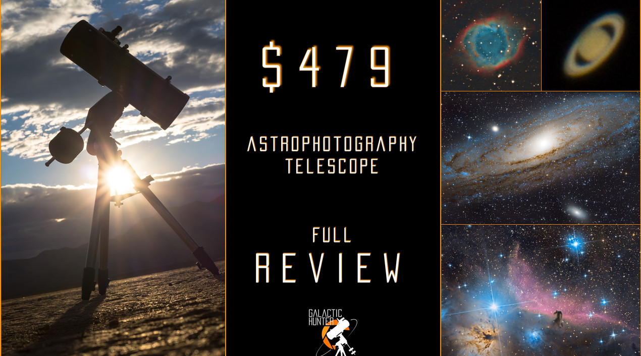 """Review of the Orion 8"""" Astrograph f/3.9 Newtonian Telescope for Astrophotography"""
