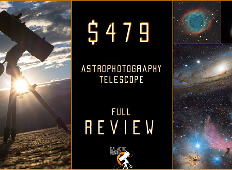 """ORION 8"""" ASTROGRAPH F/3.9 - REVIEW OF OUR $479 TELESCOPE"""