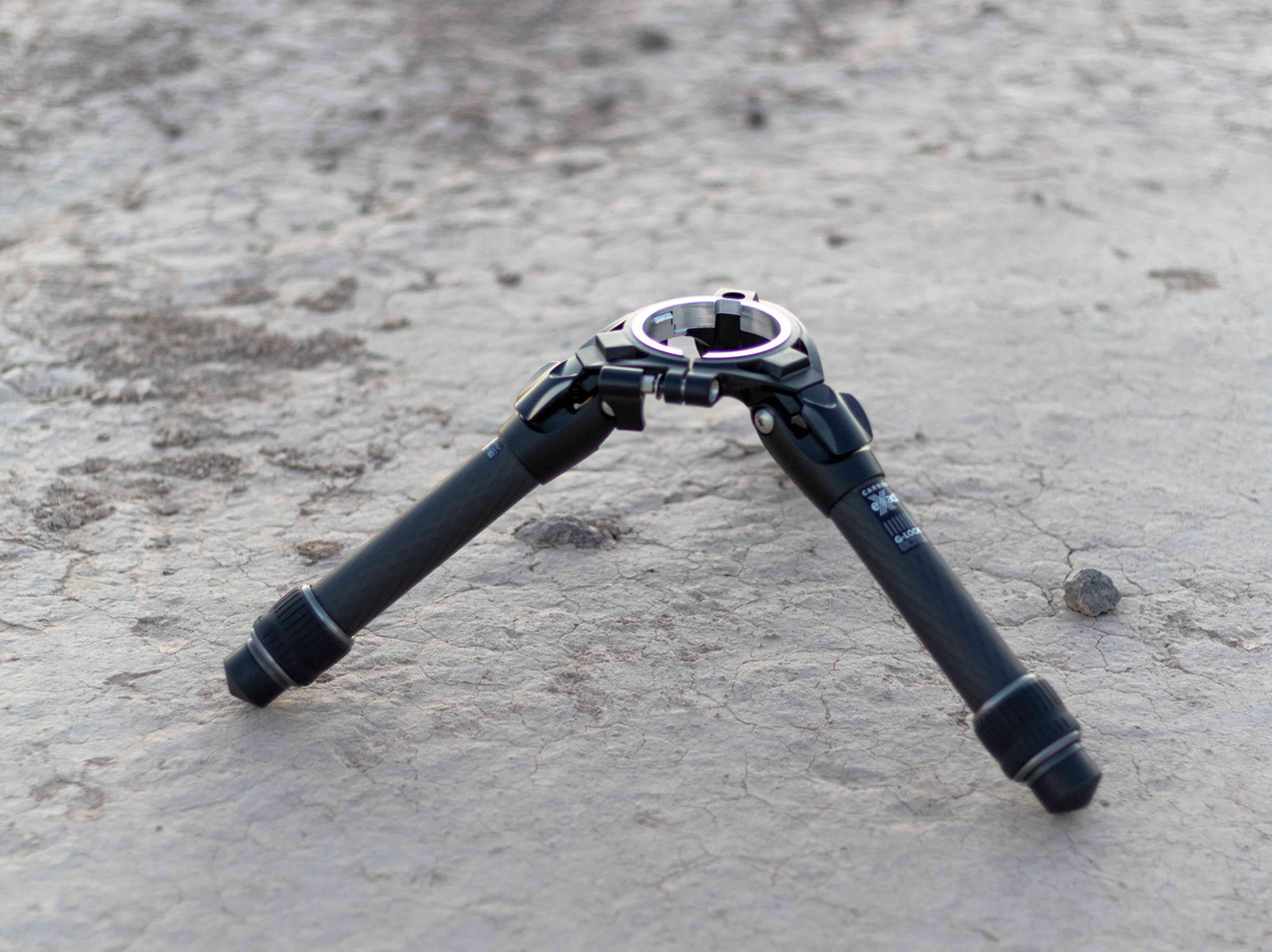Stellina tripod opened for full review, las vegas astrophotography