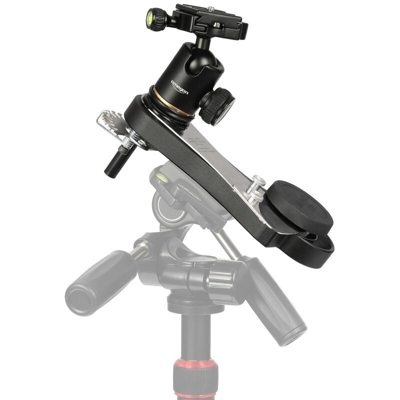 Omegon Mini Track LX2 NS, SET (Tracks the Northern Hemisphere, the Southern Hemisphere, and comes with a camera Ball Head) - $189