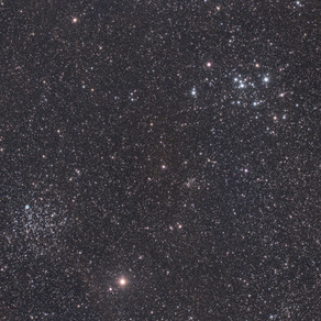 M46 & M47 - Two Clusters and a hidden nebula!